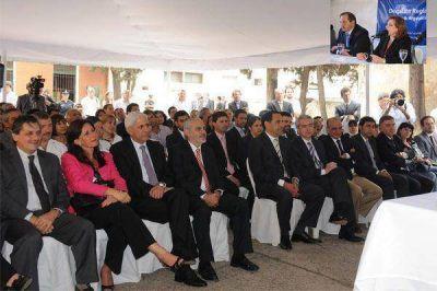 El ministro Neder en la inauguración de la Delegación Regional del Ministerio de Seguridad