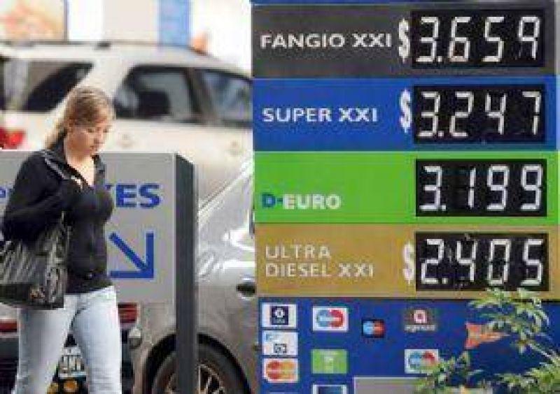 YPF aumentó 4% el precio de sus naftas y gasoil