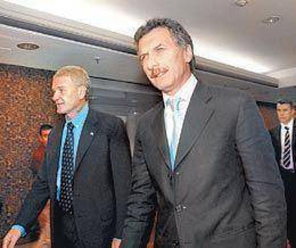 Macri, más cerca de apoyar la candidatura de De Narváez