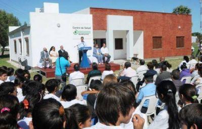 Inauguraron el nuevo centro de salud de Samuhú en el que se invirtió $ 560 mil