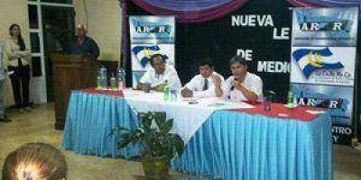 Exitoso encuentro sobre Ley de Medios organizado ARFOR en Laishi