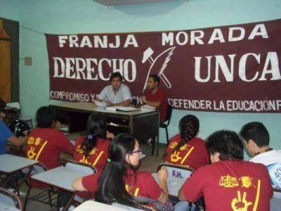Franja Morada ganó las elecciones en Derecho