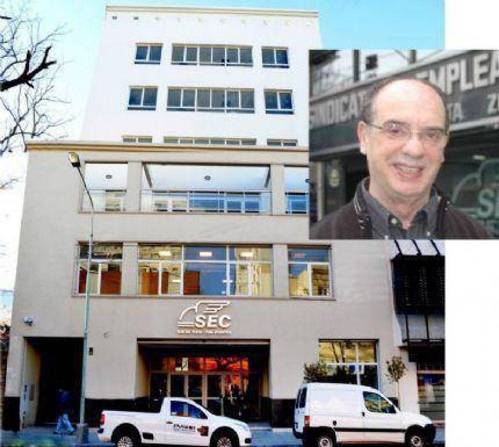 Pedro Mezzapelle y el orgullo de inaugurar una nueva sede del Sindicato de Empleados de Comercio