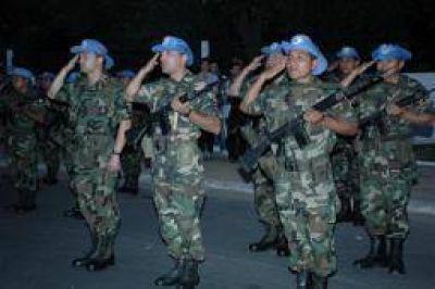 150 soldados riojanos, seleccionados para una misión de paz a Haití