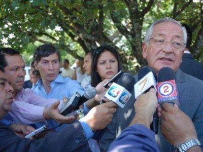 El gobernador Fellner anunció cambios en el gabinete provincial