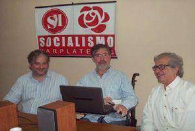 Los Socialistas Marplatenses recibieron a Jorge Rivas