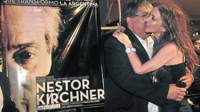 Militancia y glamour en la noche del estreno de la película sobre Kirchner