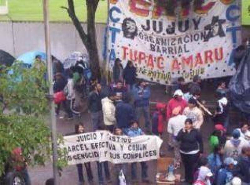 """Fernando Frías, por la toma del ministerio de infraestructura: """"esperamos que dialogando podamos llegar a un acuerdo""""."""
