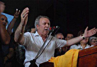 Peralta celebró el Día del Militante Peronista