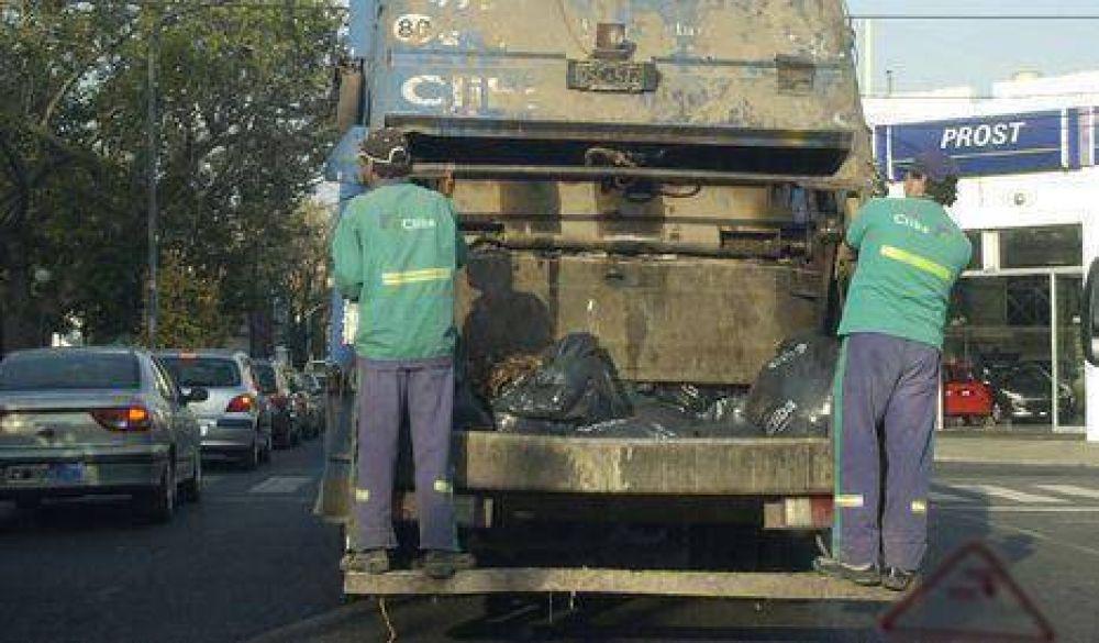 Piden no sacar la basura lunes y martes