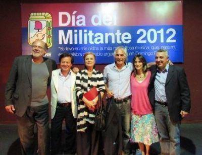 Se realizó en Tigre un emotivo homenaje a Leonardo Favio en el Día del Militante