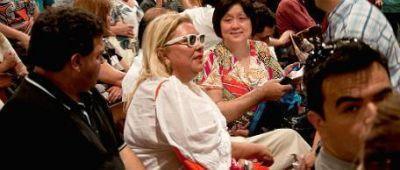 Carrió reapareció en el congreso de la Coalición Cívica y ya piensa en 2013