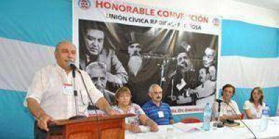 Ventimiglia fue elegido presidente de la Convención Provincial de la UCR
