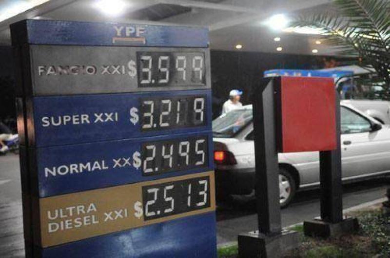En Tucum�n, la nafta s�per vale 14 centavos m�s.