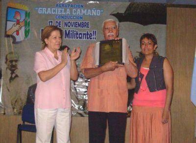Graciela Camaño y su agrupación celebraron el Día del Militante