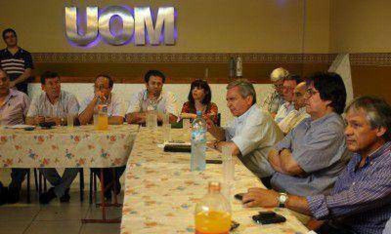 """Márquez, secretario de la UOM: """"Es un paro sectorial, no general"""""""