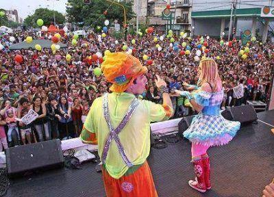 Avellaneda: 8 mil personas asistieron al Festival por el Día Internacional de los Derechos del Niño