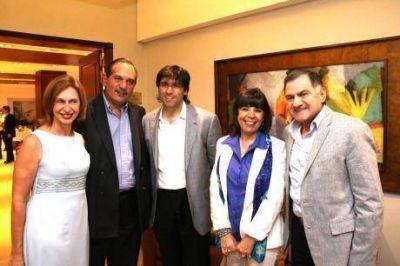 Pereyra, Kunkel y el Peronismo viajaron a Santiago para darle un fuerte respaldo el gobierno nacional