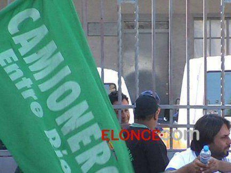 Paro nacional: Camioneros realizan cortes de rutas en Entre Ríos