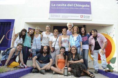 """El Municipio de Lanús celebró el 2do. año de vida y trabajo constante de """"La Casita de Chingolo"""""""