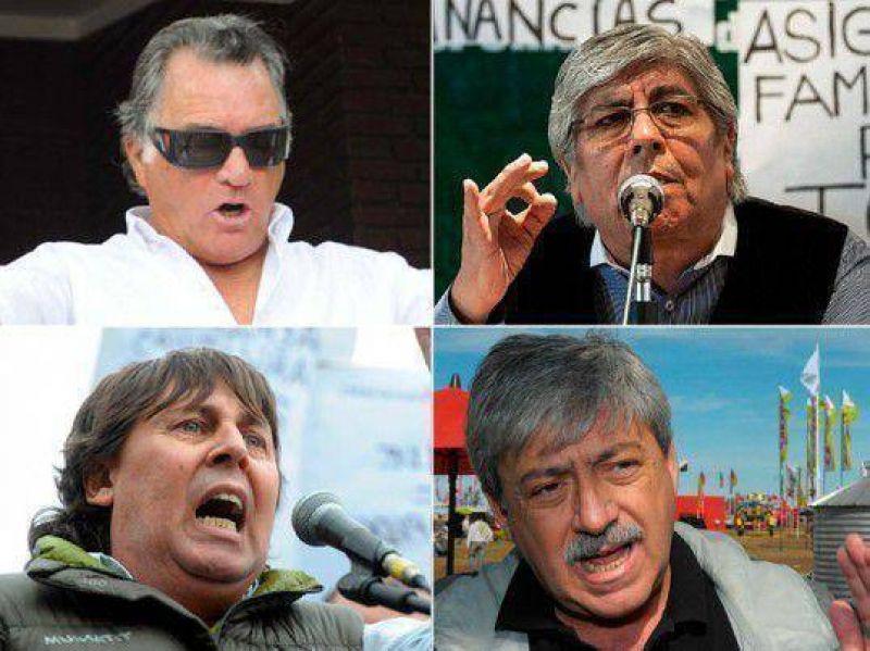 Las idas y vueltas entre los dirigentes que convocan al paro opositor
