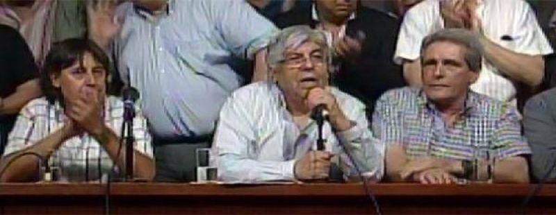 """Moyano: """"El silencio de las calles es la voz que el Gobierno debe escuchar"""""""