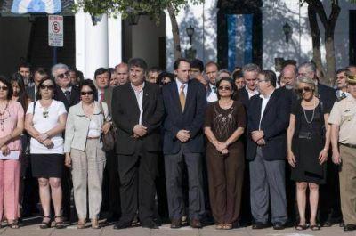Corpacci presidió el acto por el Día de la Soberanía Nacional