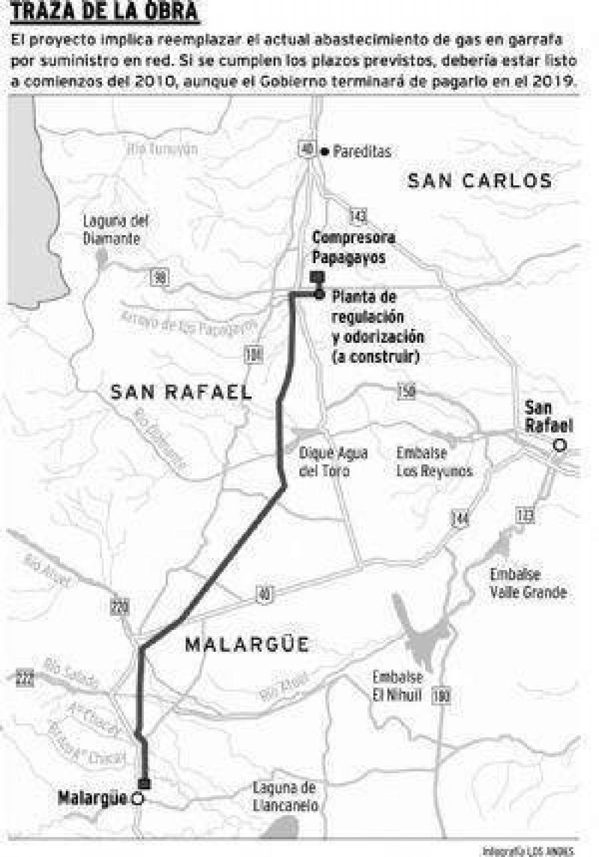 Tentarán a inversionistas para financiar gasoducto a Malargüe