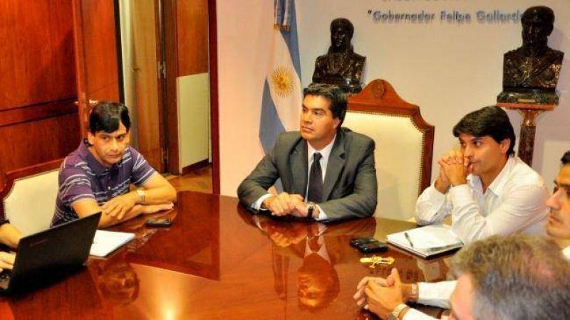 """UPCP consider� """"positiva"""" la audiencia con el Gobernador por el conflicto en la ATP"""