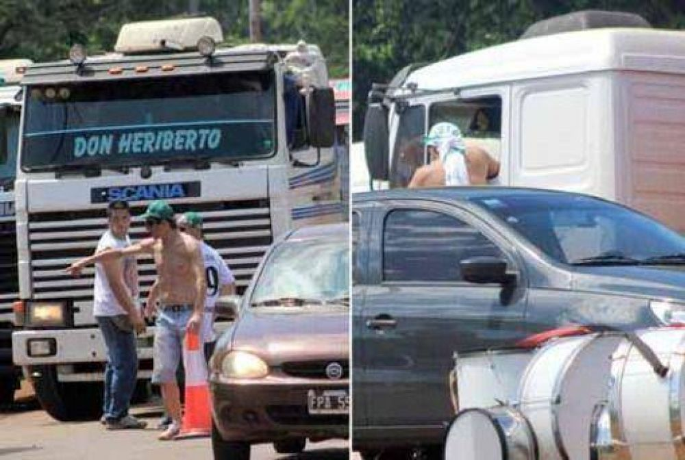 Baja adhesión y aprietes de camioneros, dejó en Misiones el paro de las centrales opositoras