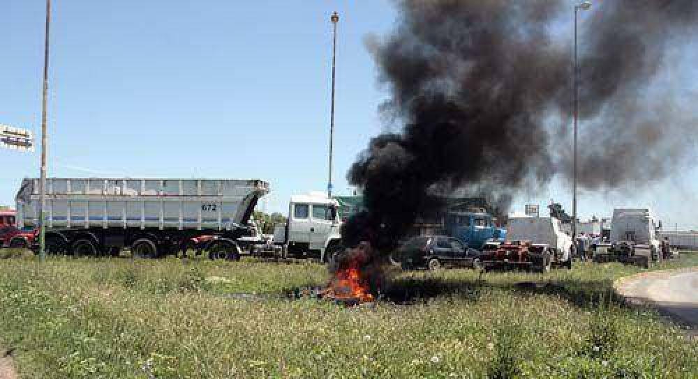 El paro de ayer fue dispar, pero impactó fuerte en varios sectores