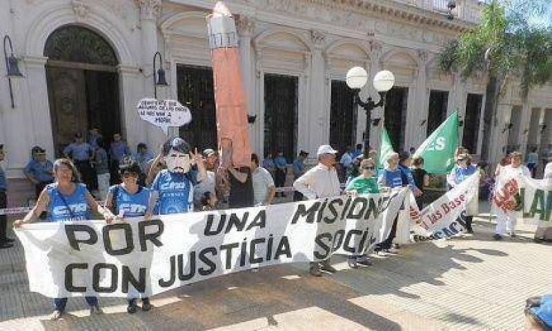 20N: Alta adhesi�n en Misiones
