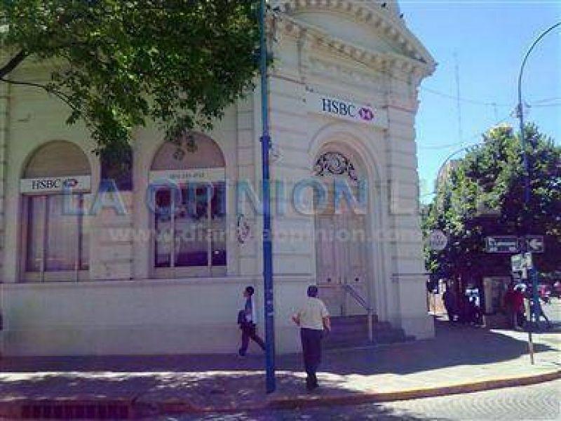 Escasa actividad en los bancos en Rafaela