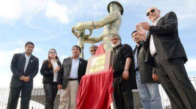 El acto institucional se limitó a la remodelación del Gorosito