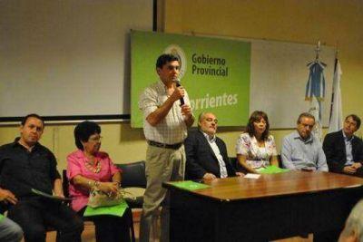 Colombi quiere reforzar un modelo participativo