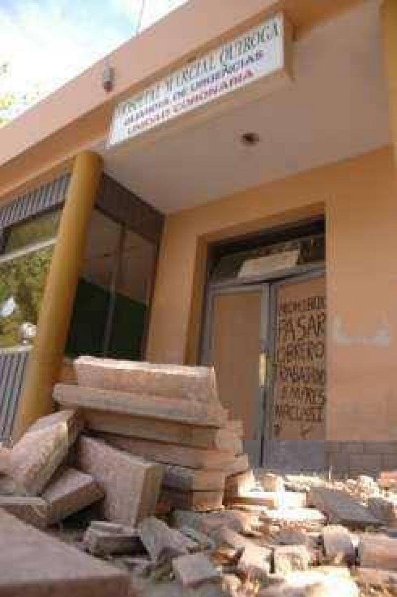 Marcial Quiroga: las refacciones listas en julio