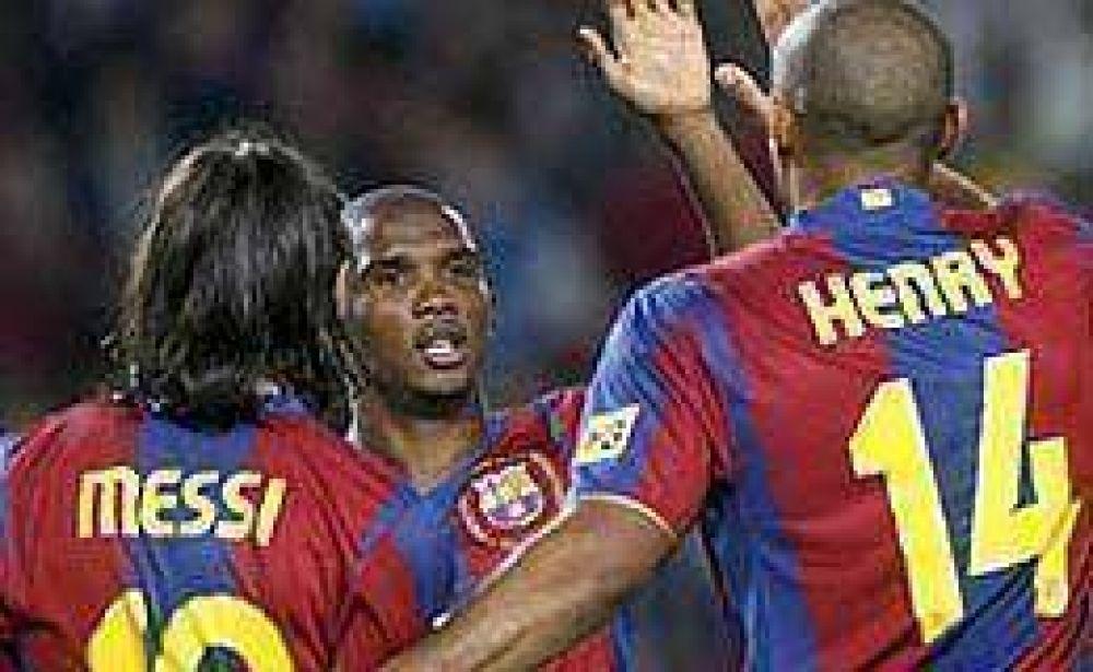 Messi, Eto'o y Henry, cerca de batir un legendario récord.