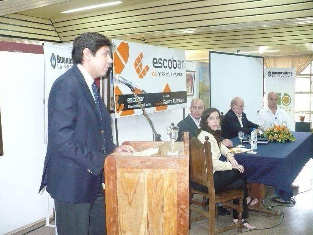 PRESENTACION DEL PLAN BIODIESEL  EN EL PARTIDO DE ESCOBAR