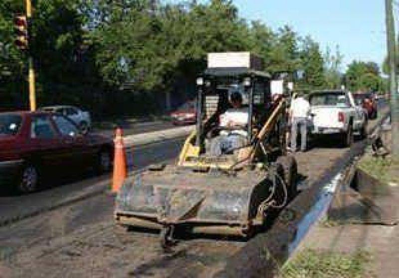 Ruta 4 Paulatino avance de obras en avenida Márquez