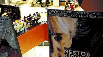 La película de Kirchner arrancó con muchas salas y sin clima militante