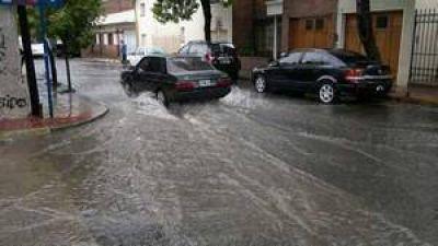 En lo que va de noviembre llovieron m�s 130 mm en la ciudad