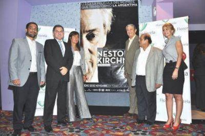 Se estrenó en Varela de la película de Néstor Kirchner