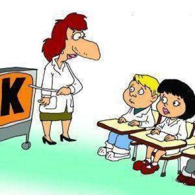 Fuerte pol�mica por un nuevo adoctrinamiento kirchnerista dibujo adoctrinamiento