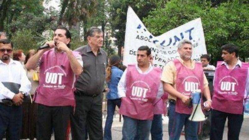 La UDT quiere disputarle la personer�a gremial a ATEP