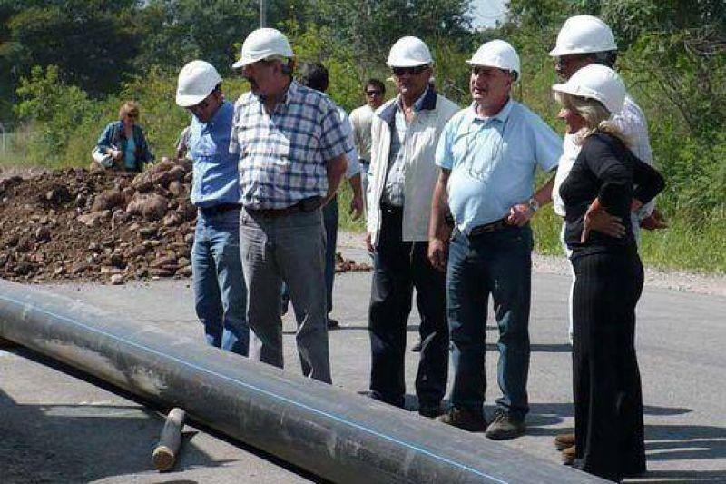 Avanzan obras por futuro acueducto en El Carmen.