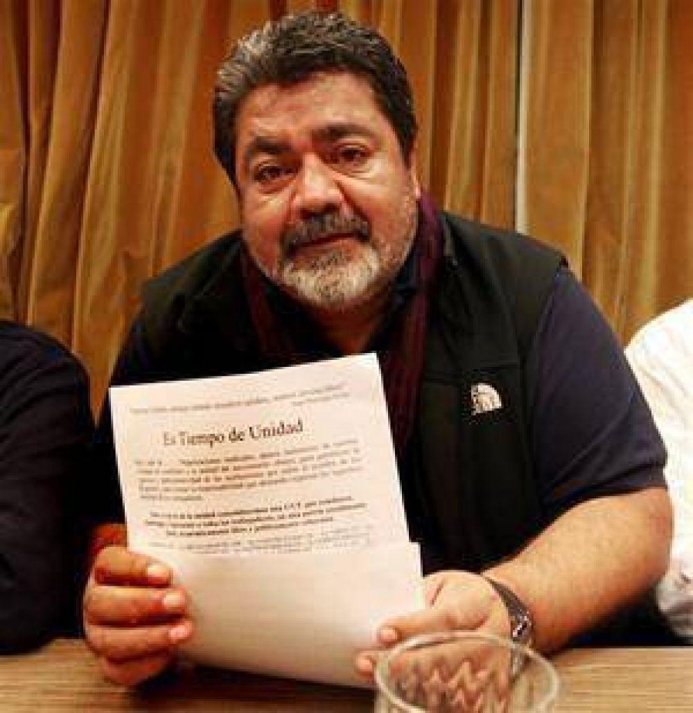 """Gerardo Martínez:""""Los reclamos son justos; no son un capricho"""""""