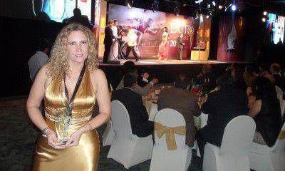 """""""Exito Awards 2012"""": este año lo ganó la mendocina Silvana Biagiotti"""