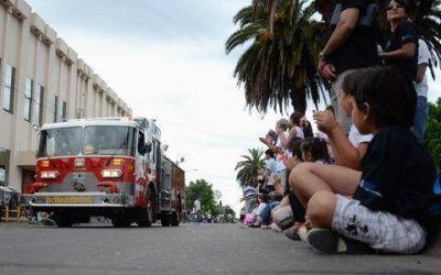Con un desfile y homenaje a los caídos, se conmemoró el Día de la Soberanía Nacional