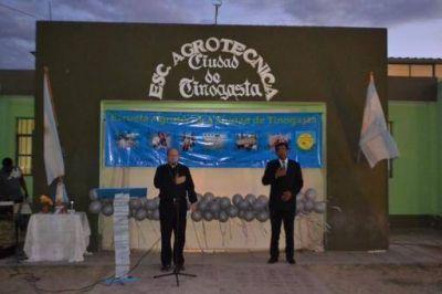 25 a�os de la m�s joven de las instituciones educativas de Tinogasta