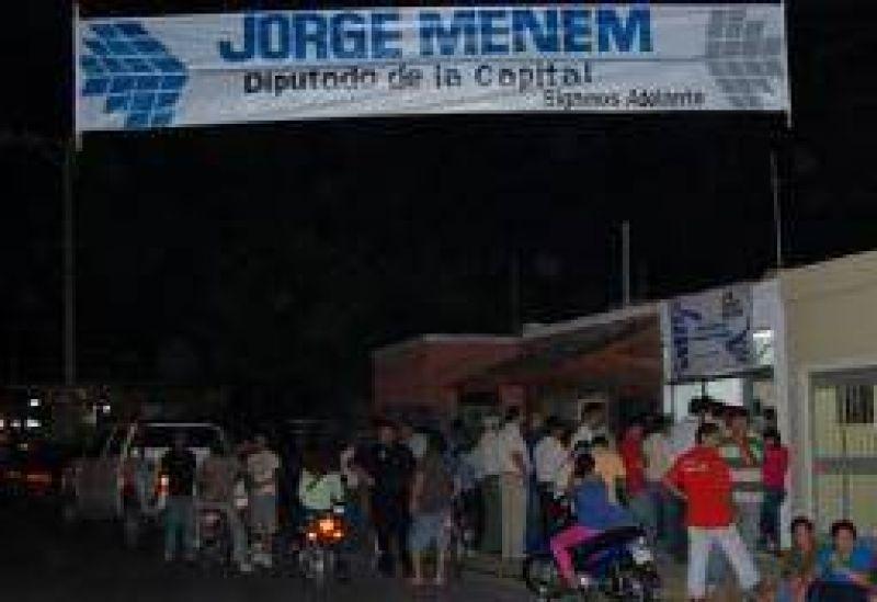 Jorge Menem largó campaña por su reelección apuntando a los jóvenes